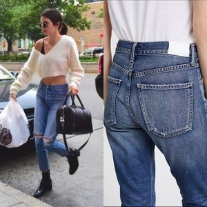COH Liya 28 High Rise Crop Mom Jeans Wiltern Wash